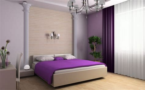 Tapeten Schlafzimmer Lila by Purple Bedroom Wallpapers And Images Wallpapers