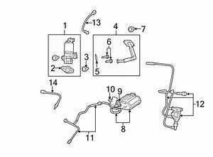 Dodge Avenger Vapor Canister  Liter  Evaporative  Make