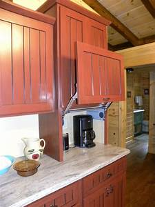 Lift-up Door On Appliance Garage - Farmhouse - Kitchen - Other