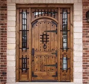 Rustic, Doors, -, Exterior, Alder, Doors