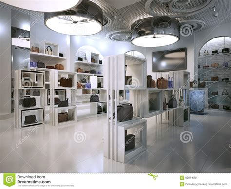 luxury store interior design deco style with hints of contem stock illustration image