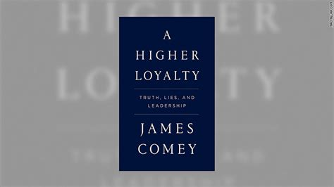 james comeys upcoming book  called  higher loyalty