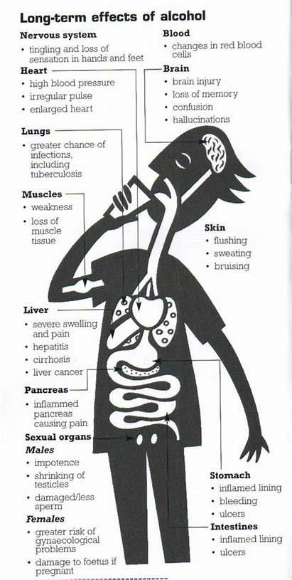 Alcohol Effects Health Drinking Term Drugs Abuse