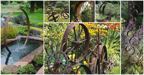 Give The Garden Industrial Character With These Unique
