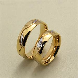 wedding rings for women gold plated lovely high quality With high quality wedding rings