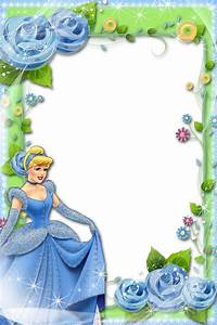 Transparent Blue Green Kids Frame with Princess   Gallery ...
