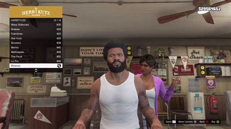 gta v how to unlock bonus hairstyles trevor franklin