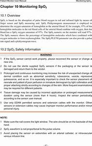 Edan Instruments Im60edan Patient Monitor User Manual