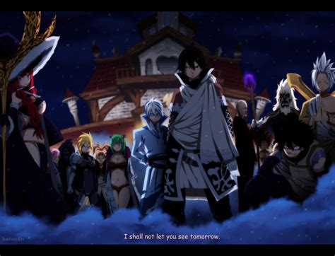fairy tail  spriggan   belucen daily anime art