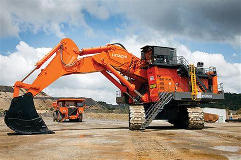 top  biggest mining excavators   world