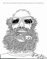 Coloring Beards Thank Birds Purchasing sketch template