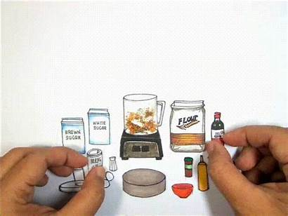 Recipe Animation Stop Motion Something Paper Graphics