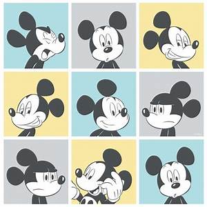 Galerie Official Disney Mickey Mouse Pop Art Pattern ...