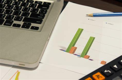 Business finance laptop - Antares Group Inc