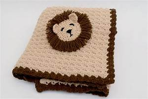Lion Baby Crochet Blanket Crafts Ideas