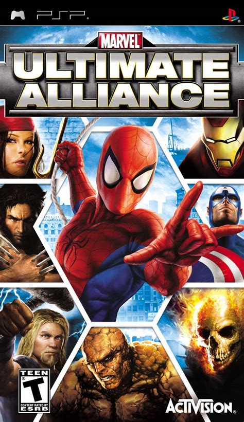 [PSP] Marvel Ultimate Alliance ~ Hiero's ISO Games Collection