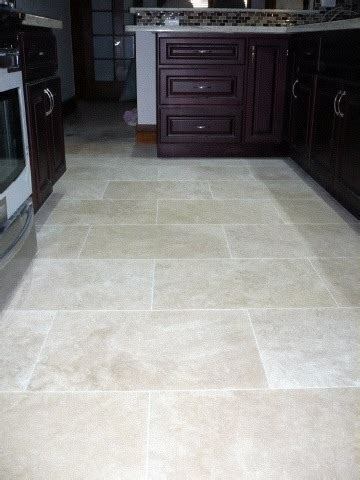 travertine tile kitchen floor sealing travertine floor tiling ceramics 6361