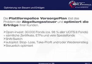 Abgeltungssteuer Berechnen : plattformpolice vorsorgeplan ~ Themetempest.com Abrechnung