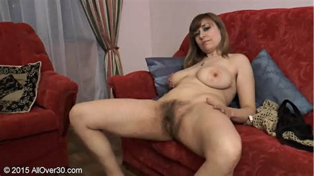 #Mature #Lady #Shows #Her #Hairy #Cunt