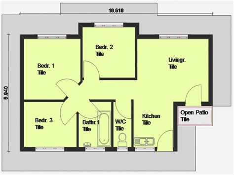 Simple 3 Bedroom House Plans And Designs Ideas