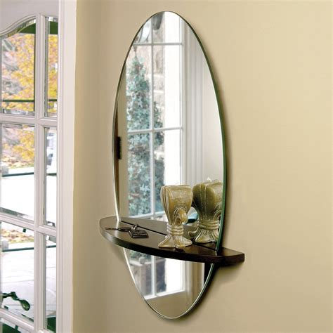 nexxt design reflect oval wall mirror atg stores dma homes 89256