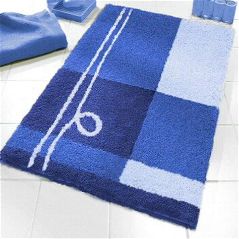 Royal Blue Bathroom Rug Set by Contemporary Bright Colored Bath Rugs In Large Sizes