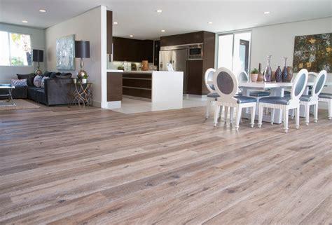 open floor plan  deep smoked oak flooring  woodland