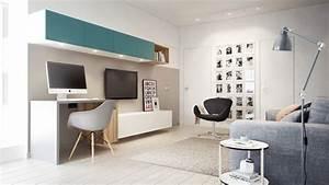 Cabinet D Architecture D Intérieur : am nager un petit appartement design ~ Nature-et-papiers.com Idées de Décoration