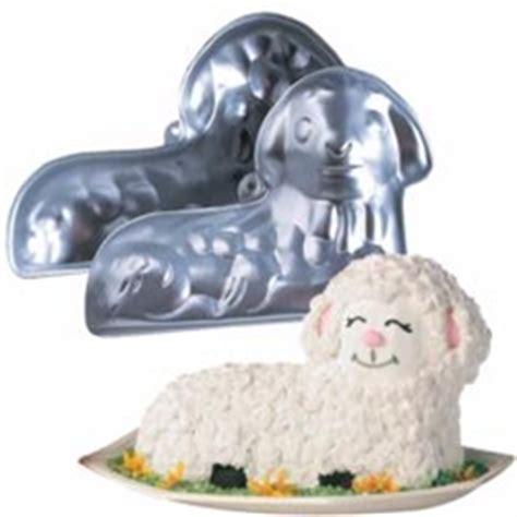 polish art center wilton stand  lamb mold pan