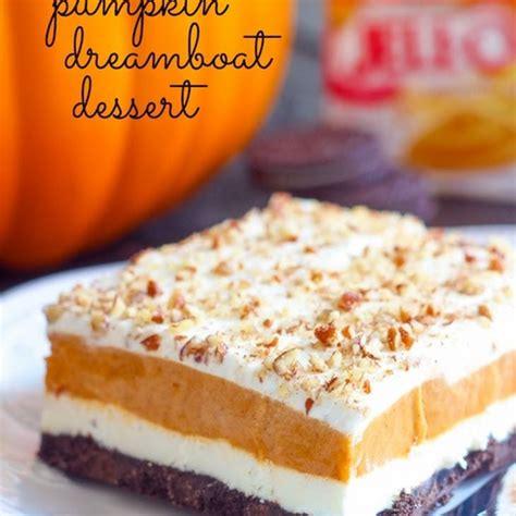 pumpkin dreamboat dessert recipe desserts with oreo