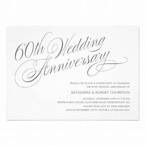 60th wedding anniversary invitations 5quot x 7quot invitation for 60th wedding anniversary invitations online