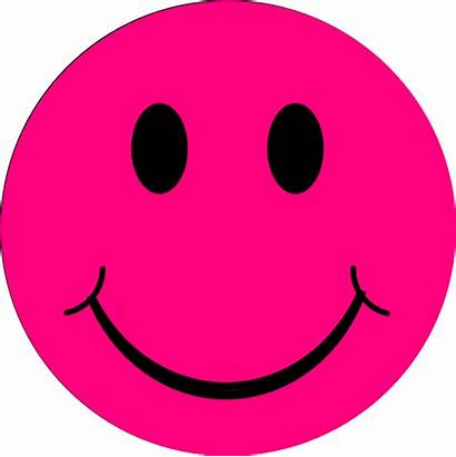 Pink Clipart Smiley Face Clip Happy Faces