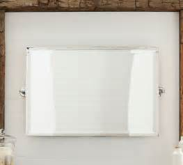 kensington wide pivot mirror traditional bathroom mirrors other metro by pottery barn