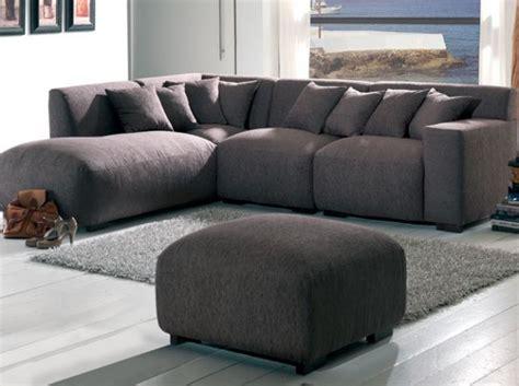canap convertible moelleux canapé d 39 angle marron ultra moelleux salon living room