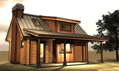 Small Log Cabin with Loft Plans Small Log Cabin Floor