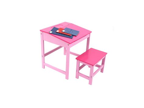 Wooden Childrens Writing Study Desk & Stool Set Pink Kids Dining Room Table Design Ideas John Lewis Furniture Purple Paint Black And Chairs Corner Cabinets Liverpool Philharmonic Rooms Window Treatments For Living Modern