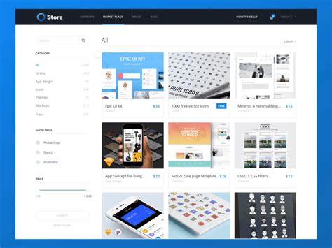 Marketplace Web Design [filters] By Eleken.