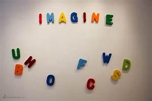 sean kenney art with lego bricks fridge magnet letters With letters magnets fridge