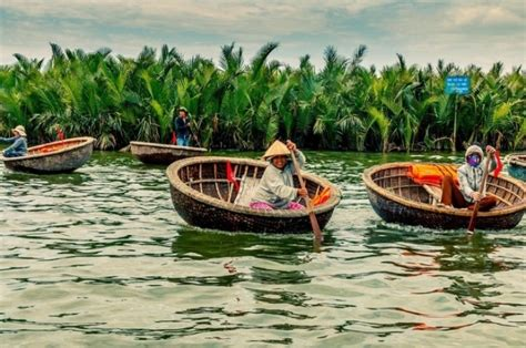 Boat Ride Hoi An by Basket Boat Ride In Hoi An Unique Experience For Traveler