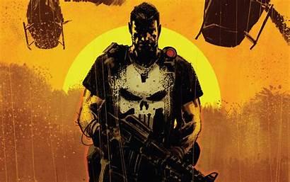 Punisher Comic 4k Marvel Comics Wallpapers Background