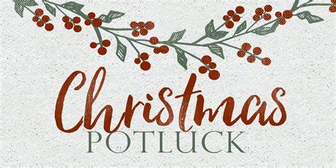 Holiday Potluck Clip Art Church