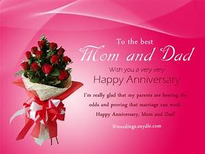 wedding anniversary messages for parents wordings and With wedding cards messages from parents