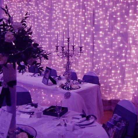6*3m 600led Waterfall Curtain Lights String Light Wedding