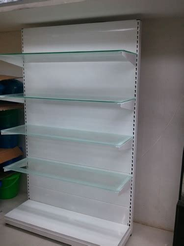 Glass Rack For Shop by Wall Glass Rack Furniture Racks Shelves Racks Indiaa