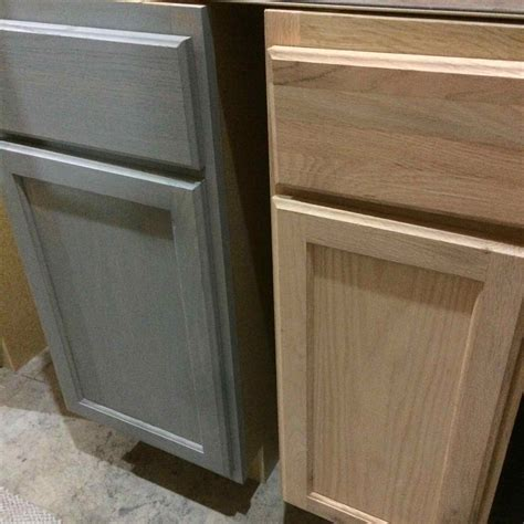 stain oak kitchen cabinets staining unfinished oak cabinets deductour 5692