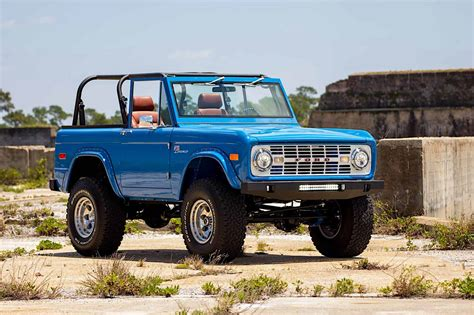 New Ford Bronco For Sale by This 1976 Ford Bronco Restoration Has Me Wanting To Rob A Bank