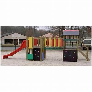 Jeux Exterieur Pas Cher : structure de jeux pour collectivit jeu enfant pour aire ~ Farleysfitness.com Idées de Décoration