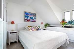 Bett Unter Dachschräge : 55 dachschr ge ideen m bel geschickt im raum platzieren ~ Lizthompson.info Haus und Dekorationen