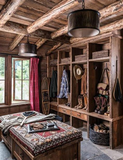 rustic home interior rustic cabin mud room mine rustic mud