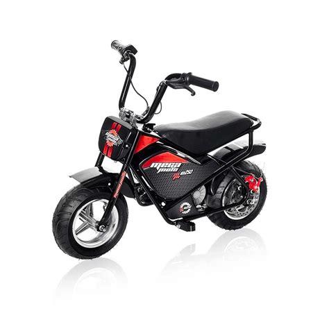 Electric Mini Moto by Mega Moto Electric 24 Volt Youth Mini Bike Mm E250 The